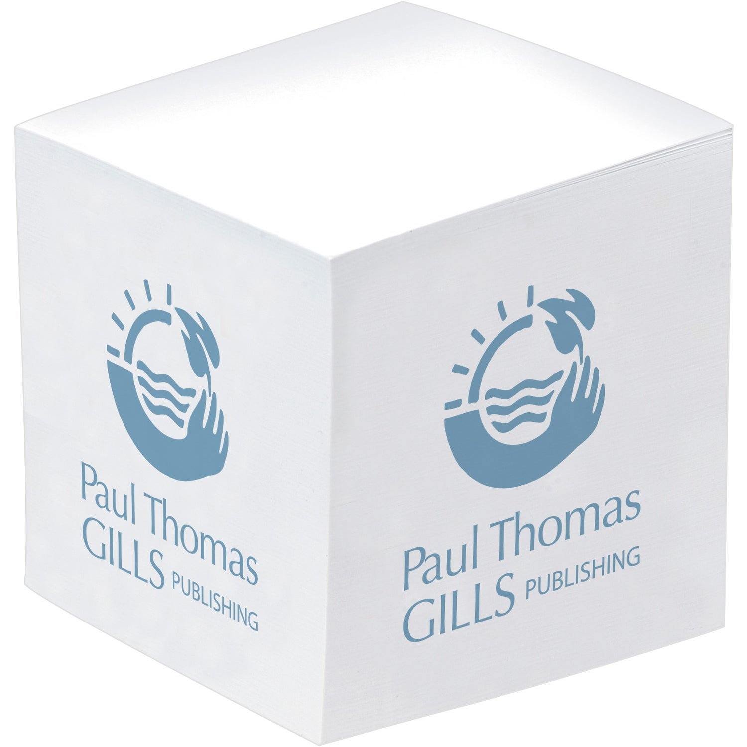 Promotional Non Adhesive Paper Cubes with Custom Logo for $2.27 Ea.