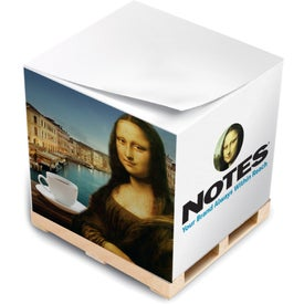 "Non Adhesive Paper Cubes (3 3/8"" x 3 3/8"" x 3 3/8"")"