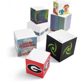 """Sticky Note Cube Notepads (Full Size, 3 3/8"""" x 3 3/8"""" x 3 3/8"""")"""