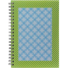 Imprinted 3D Spiral Notebook