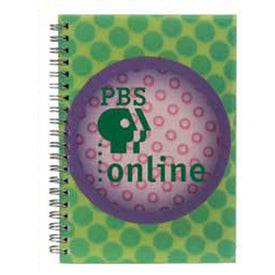 3D Spiral Notebook Branded with Your Logo