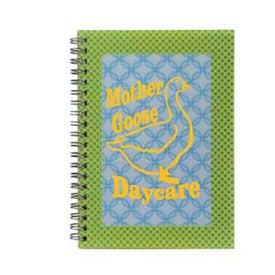 Printed 3D Spiral Notebook