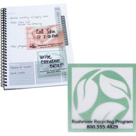 See Thru Adhesive Notepad for Your Organization