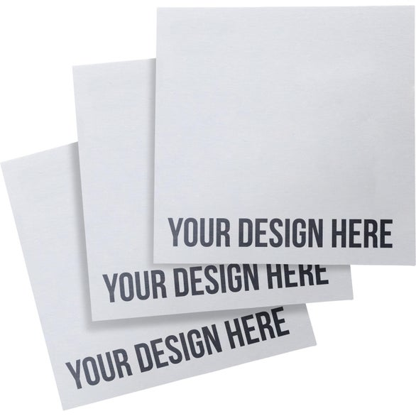White BIC Adhesive Sticky Note Pads