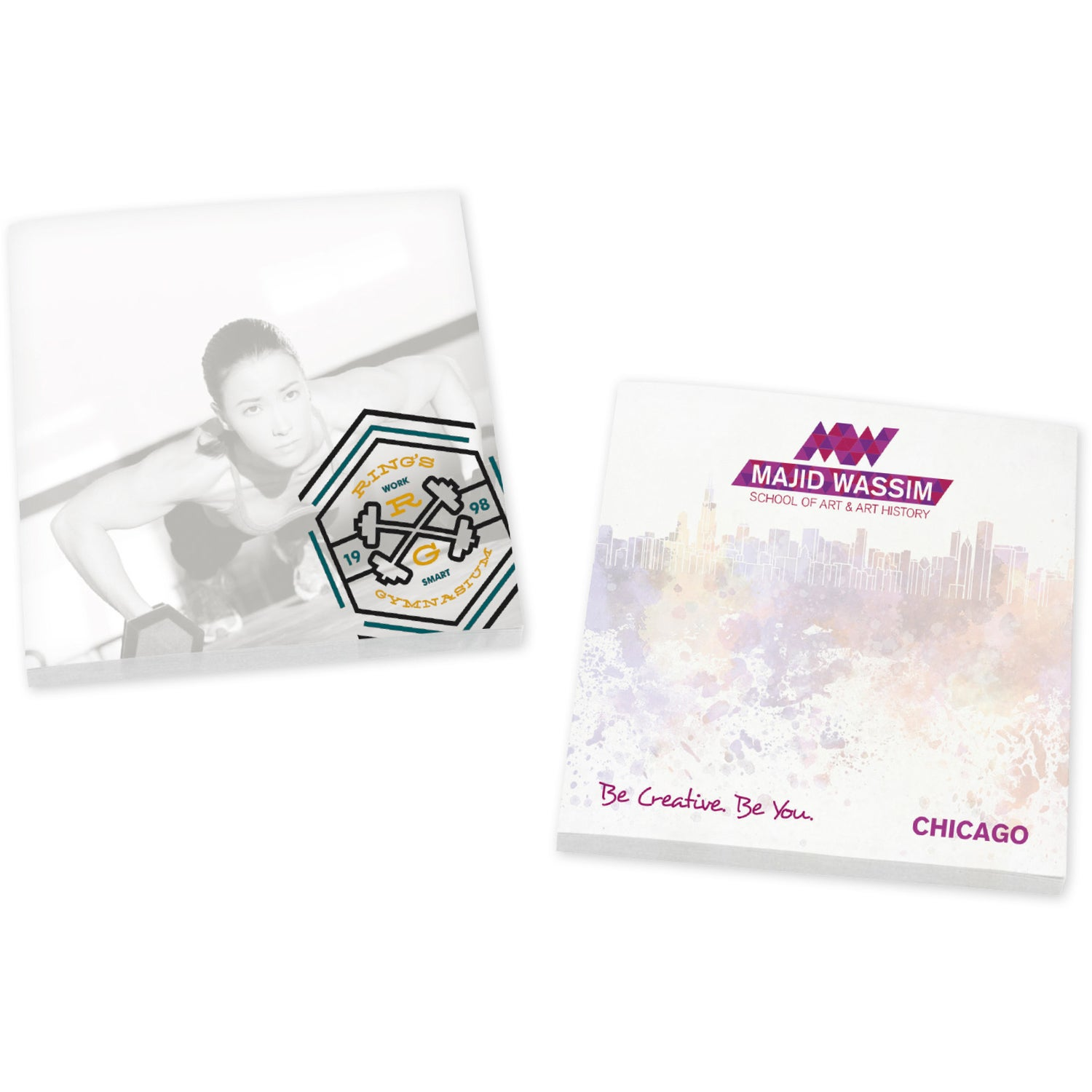 """BIC Adhesive Sticky Note Pads (3"""" x 3"""" w/ 50 Sheets)"""