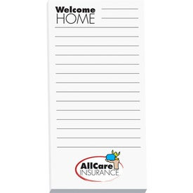 Non-Adhesive Scratch Pad with Your Logo