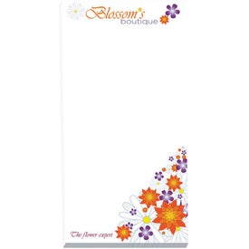 """Non-Adhesive Scratch Pad (3"""" x 6"""", 25 Sheets)"""