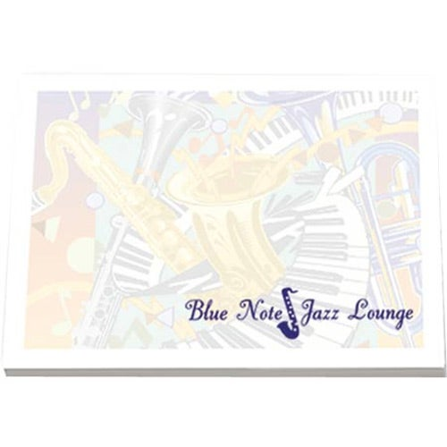 """Custom Notepads Memo Pads: Adhesive Sticky Note Pads (4"""" X 3"""", 100 Sheets"""