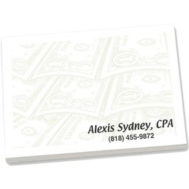 Adhesive Sticky Note Pads Imprinted with Your Logo