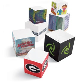 "Sticky Note Cube Notepads (Full Size, 3 7/8"" x 3 7/8"" x 3 7/8"")"