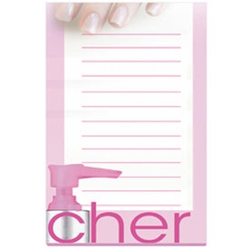 "Adhesive Sticky Note Pads (4"" x 6"" w/ 100 Sheets)"