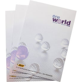 "BIC Adhesive Sticky Note Pads (4"" x 6"" w/ 25 Sheets)"
