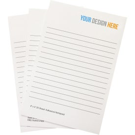 Branded Adhesive Sticky Note Pads