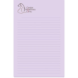 "Adhesive Sticky Note Pads (4"" x 6"" w/ 50 Sheets)"