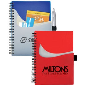 Abstract Pocket Notebook for Promotion