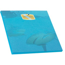 "Adhesive Colored Paper Notepad, 100 sheet (3"" x 3"")"