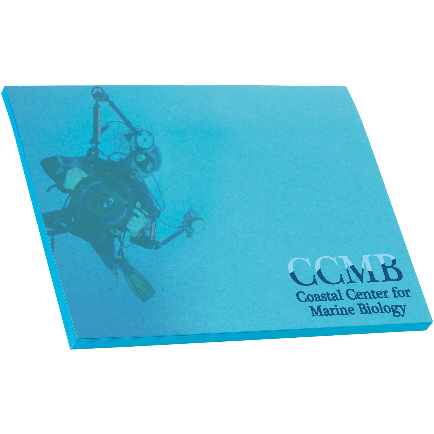 """Custom Notepads Memo Pads: Adhesive Colored Sticky Note Pads (4"""" X 3"""", 25 Sheets"""