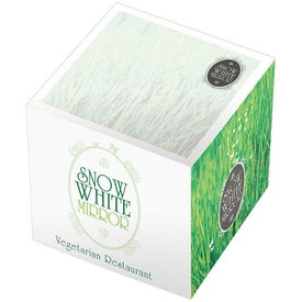 Adhesive Cubes 3 x 3 x 3 with Your Logo
