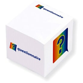 "Adhesive Cube (2 3/8"" x 2 3/8"" x 2 3/8"")"