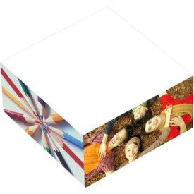 "BIC Adhesive Paper Cube (3"" x 3"" x 1.5"")"