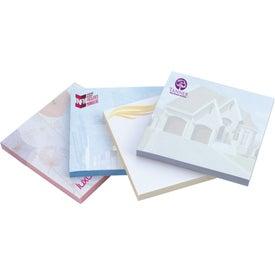 "Adhesive Spring Notepad, (3"" x 3"" x 50 Sheet)"
