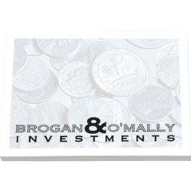 Advertising Adhesive Notepads Stock Design