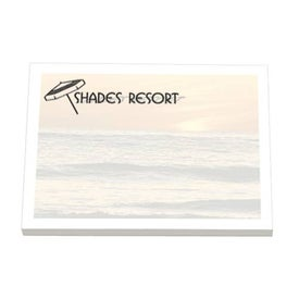 Adhesive Notepads Stock Design Printed with Your Logo