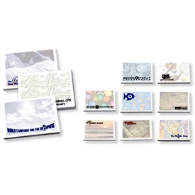 Company Adhesive Notepads Stock Design