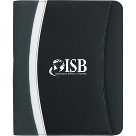 Personalized E-Junior Color Curve Padfolio