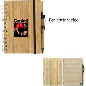 Promotional Bamboo Eco Notebook