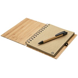 Bamboo Notebook and Pen for Promotion
