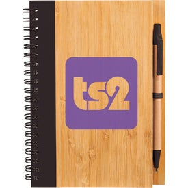 Promotional Bamboo Notebook