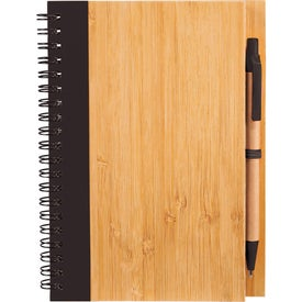 Bamboo Notebook for Advertising
