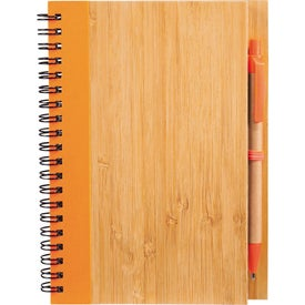 Advertising Bamboo Notebook