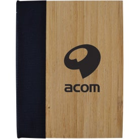 Printed Bamboo Sticky Notebook