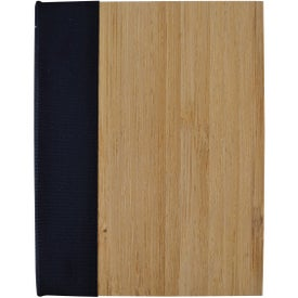 Imprinted Bamboo Sticky Notebook