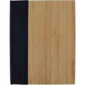 Imprinted Bamboo Sticky Notebook
