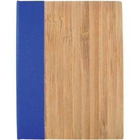 Custom Bamboo Sticky Notebook