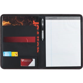 Barn Style Padfolio Branded with Your Logo