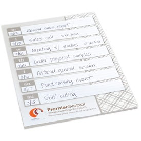 BIC Large Adhesive Notepad for Your Church