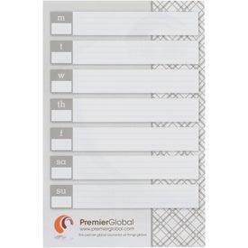 Imprinted BIC Large Adhesive Notepad