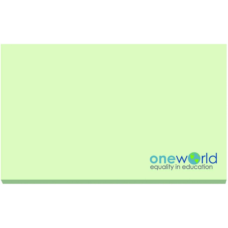 """BIC Ecolutions Adhesive Notepad ( 5"""" x 3"""", 50 Sheets)"""