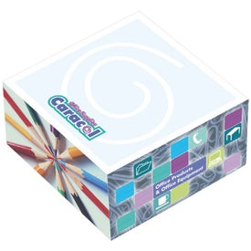 """BIC Ecolutions Adhesive Paper Cube (3"""" x 3"""" x 1 1/2"""")"""