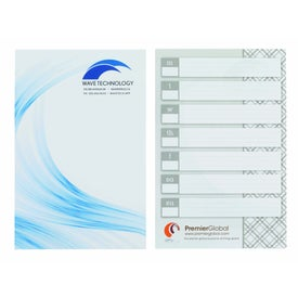 "BIC Ecolutions Large Adhesive Notepad (50 Sheets, 6"" x 9"")"
