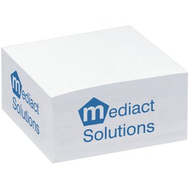 "BIC Ecolutions Value Non-Adhesive Paper Cube (3.5"" x 3.5"" x 1.75"")"