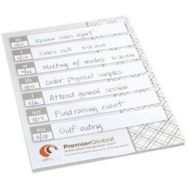 Printed BIC Large Adhesive Notepad
