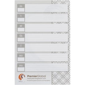 Customized BIC Large Adhesive Notepad