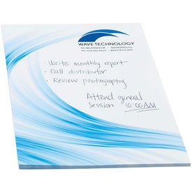 BIC Large Adhesive Notepad for Your Organization