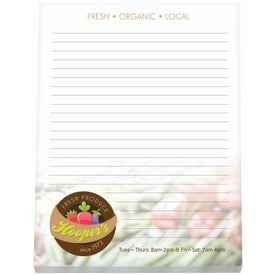 """Non-Adhesive Scratch Pad (8 1/2"""" x 11"""", 50 Sheets)"""