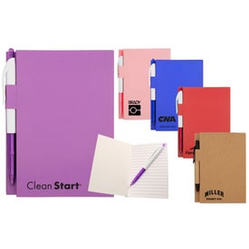 Bound Paper Notebook with Your Logo